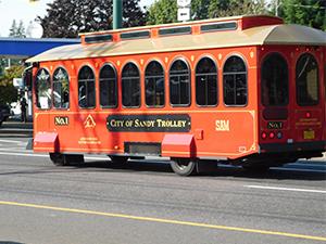Sandy Oregon Trolley