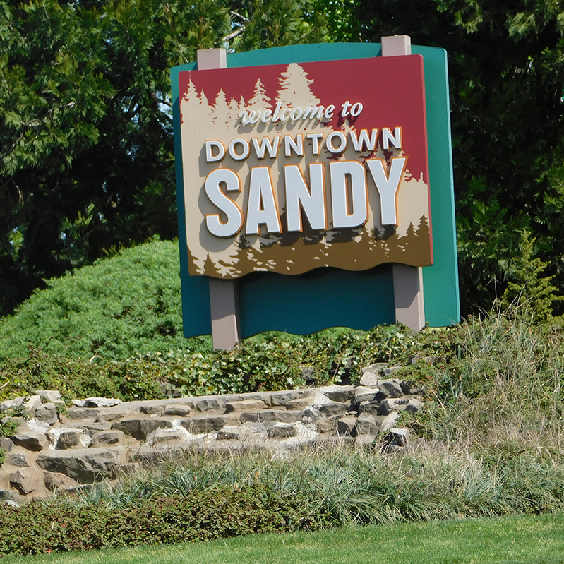 Welcome to Sandy Oregon